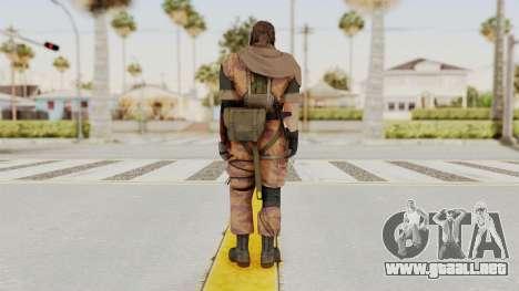 MGSV The Phantom Pain Venom Snake Scarf v5 para GTA San Andreas tercera pantalla