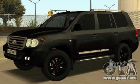 Toyota Land-Cruiser 200 para GTA San Andreas left
