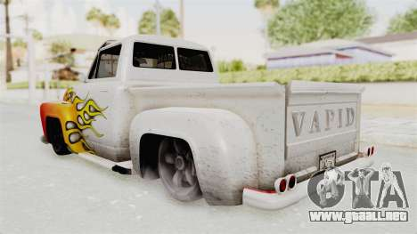 GTA 5 Slamvan Lowrider PJ1 para la vista superior GTA San Andreas