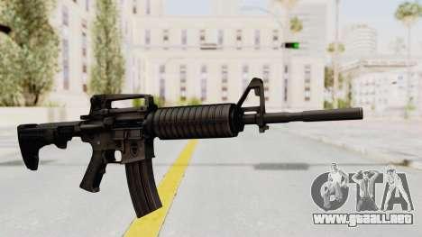 HD M4 v1 para GTA San Andreas