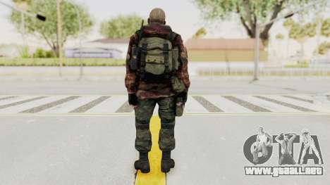 Battery Online Russian Soldier 10 v3 para GTA San Andreas tercera pantalla