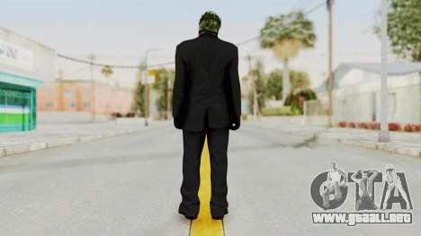Joker Heist Outfit GTA 5 Style para GTA San Andreas tercera pantalla