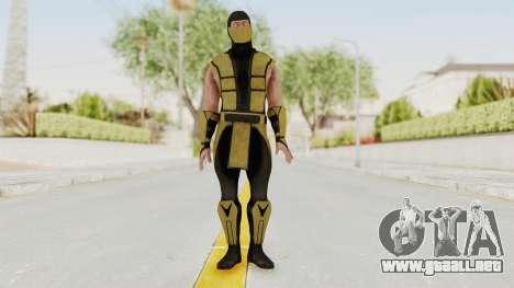 Mortal Kombat X Klassic Scorpion para GTA San Andreas segunda pantalla
