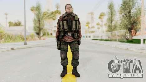 Battery Online Russian Soldier 9 v2 para GTA San Andreas segunda pantalla