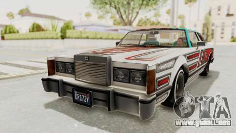 GTA 5 Dundreary Virgo Classic Custom v1 IVF para el motor de GTA San Andreas