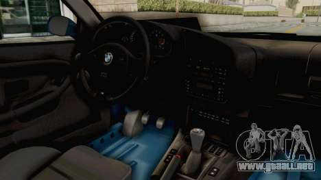 BMW 325i E36 para visión interna GTA San Andreas