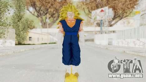 Dragon Ball Xenoverse Vegito SSJ3 para GTA San Andreas segunda pantalla