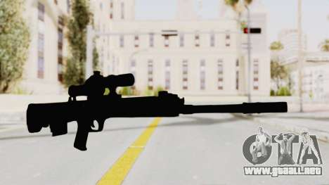 QBU-88 para GTA San Andreas segunda pantalla