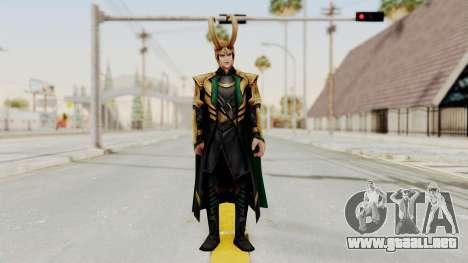 Marvel Future Fight - Loki para GTA San Andreas segunda pantalla