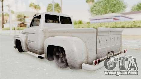 GTA 5 Slamvan Lowrider PJ1 para visión interna GTA San Andreas