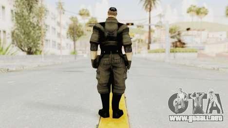 Russian Solider 2 from Freedom Fighters para GTA San Andreas tercera pantalla