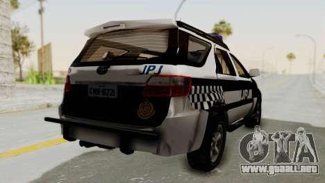 Toyota Fortuner JPJ White para la visión correcta GTA San Andreas
