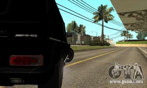 Mercedes G55 Kompressor para visión interna GTA San Andreas