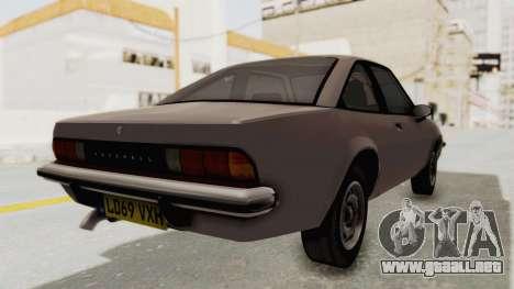 Vauxhall Cavalier MK1 Coupe para GTA San Andreas left