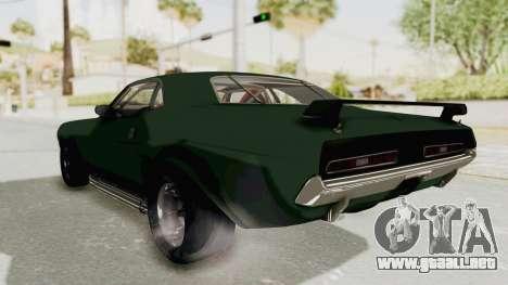 Dodge Challenger 1971 para la visión correcta GTA San Andreas