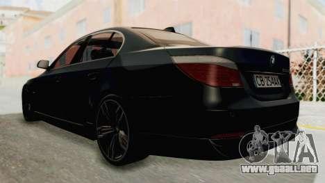 BMW 530D E60 para GTA San Andreas left