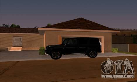 Mercedes G55 Kompressor para GTA San Andreas left