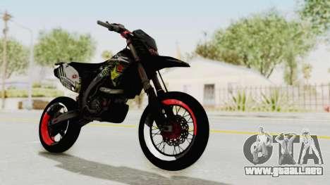 Kawasaki KLX 150S Supermoto para la visión correcta GTA San Andreas