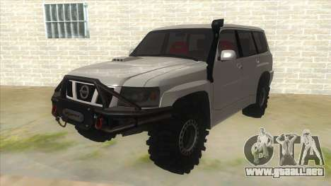 Nissan Patrol Y61 para GTA San Andreas