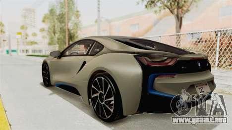 BMW i8-VS 2015 para GTA San Andreas left