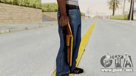Sawnoff Gold para GTA San Andreas tercera pantalla