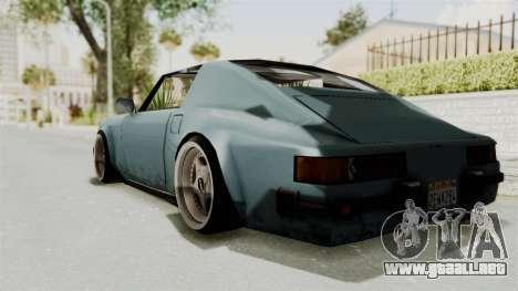 Comet 911 GermanStyle para GTA San Andreas left