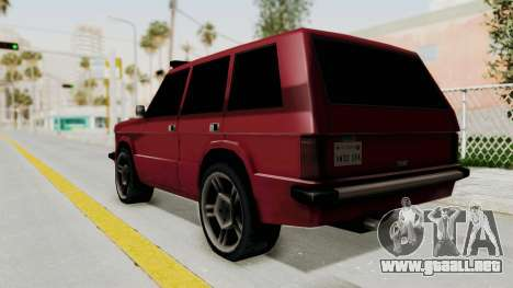 Huntley LR para GTA San Andreas left