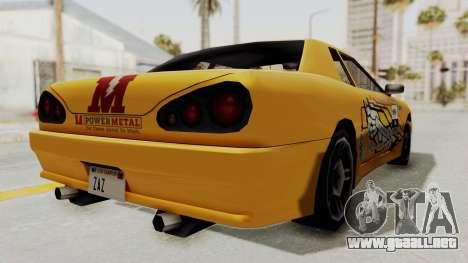 Dewbauchee Elegy para la visión correcta GTA San Andreas