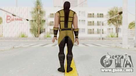 Mortal Kombat X Klassic Scorpion para GTA San Andreas tercera pantalla