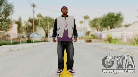 GTA 5 Ballas 2 para GTA San Andreas segunda pantalla
