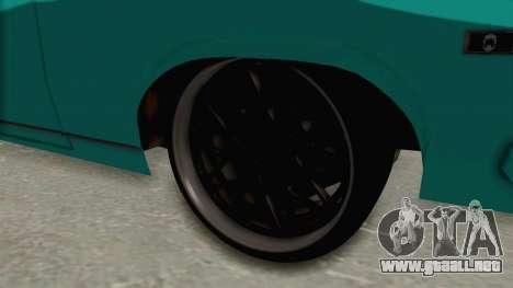 Chevy Nova 454 para GTA San Andreas vista hacia atrás