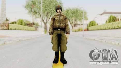 Russian Solider 3 from Freedom Fighters para GTA San Andreas segunda pantalla