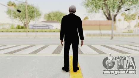 Batman Begins - Morgan Freeman para GTA San Andreas tercera pantalla