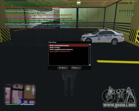 CLEO Fakearmy para GTA San Andreas