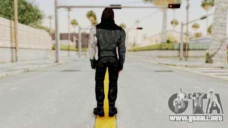 Captain America Civil War - Winter Soldier para GTA San Andreas tercera pantalla