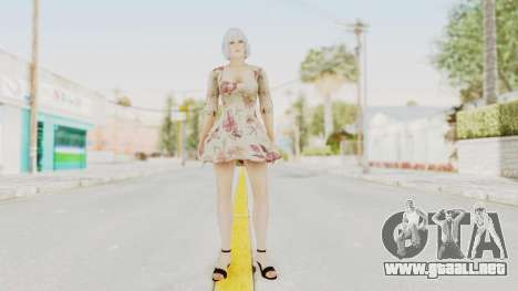 Dead Or Alive 5 LR - Christie Casual New Hair para GTA San Andreas segunda pantalla