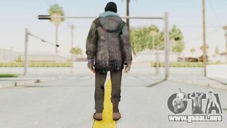 Bourne Conspirancy Homeless para GTA San Andreas tercera pantalla