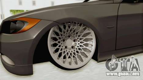 BMW 330i E92 Camber para GTA San Andreas vista hacia atrás
