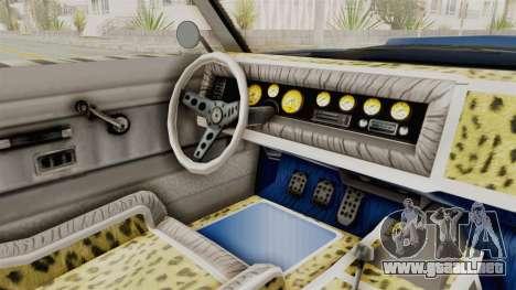 GTA 5 Declasse Sabre GT2 A para visión interna GTA San Andreas