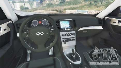 GTA 5 Infiniti FX S50 vista lateral derecha
