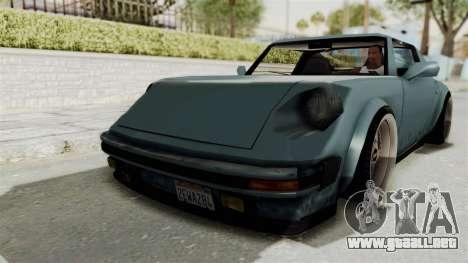 Comet 911 GermanStyle para GTA San Andreas