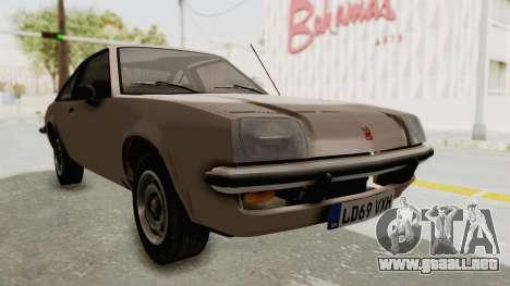Vauxhall Cavalier MK1 Coupe para GTA San Andreas