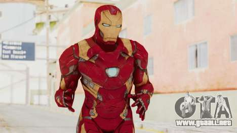 Captain America Civil War - Iron Man para GTA San Andreas