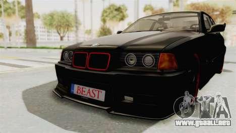 BMW M3 E36 Beast para GTA San Andreas
