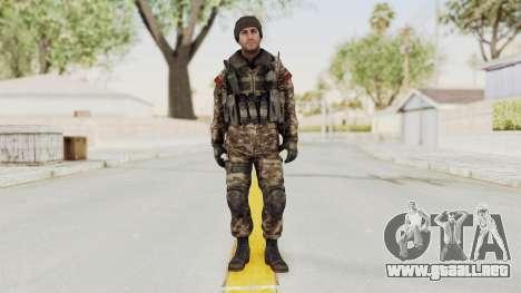 CoD MW3 Russian Military SMG v2 para GTA San Andreas segunda pantalla