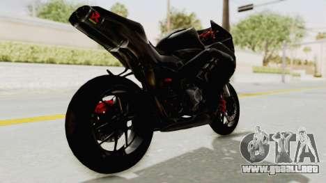 Kawasaki Ninja 300 FI Modification para GTA San Andreas left