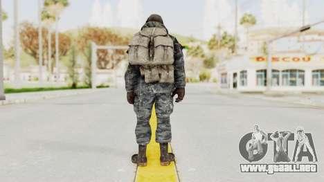 COD MW2 Ghost Ops para GTA San Andreas tercera pantalla