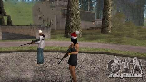 VIP Sniper Rifle para GTA San Andreas quinta pantalla