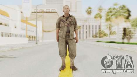 COD BO Dempsey para GTA San Andreas segunda pantalla