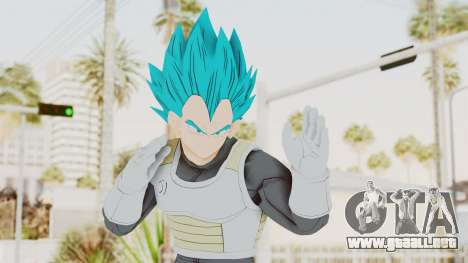Dragon Ball Xenoverse Vegeta SSGSS para GTA San Andreas